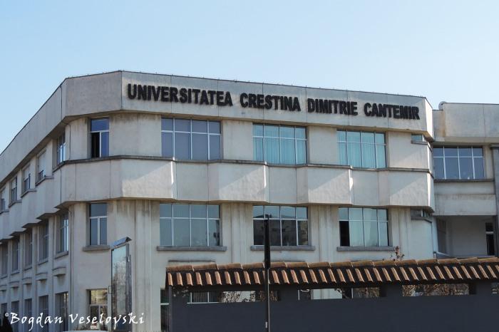 Dimitrie Cantemir Christian University Bucharest