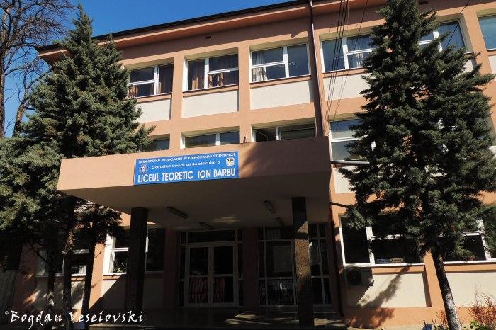 'Ion Barbu' Theoretical High School, Bucharest