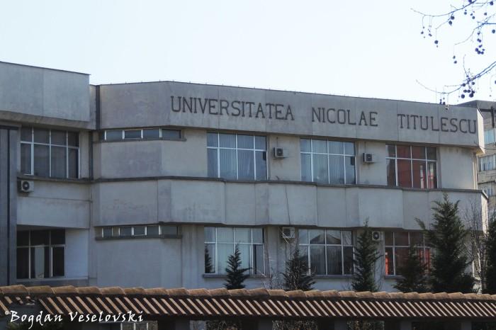 Nicolae Titulescu University Bucharest