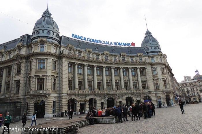 """Palatul Societății de Asigurări """"Generala"""" - azi BCR ('Generala' Insurance Company Palace, 1906, arch. Oscar Maugsch)"""