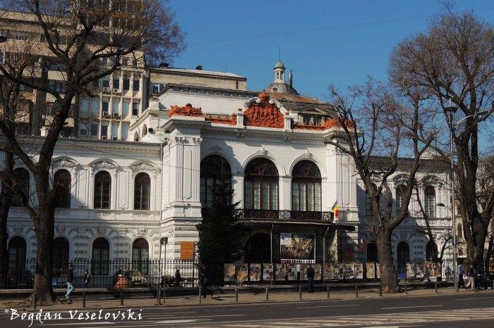 Palatul Suțu - Muzeul Municipiului București (Sutu Palce - Bucharest City Museum, 1835, arch. Conrad Schwink & Johann Veit, neo-gothic style)
