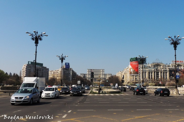 Piața Unirii (Unirii 'Union' Square)
