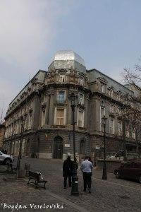 Spitalul PTTR (PTTR Hospital, Bucharest, 1914, arch. Petre Antonescu, eclectic Academist style, )
