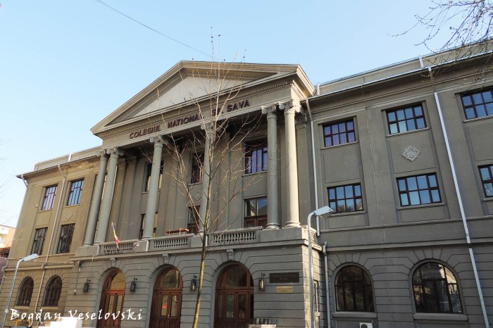 'St. Sava' National College Bucharest
