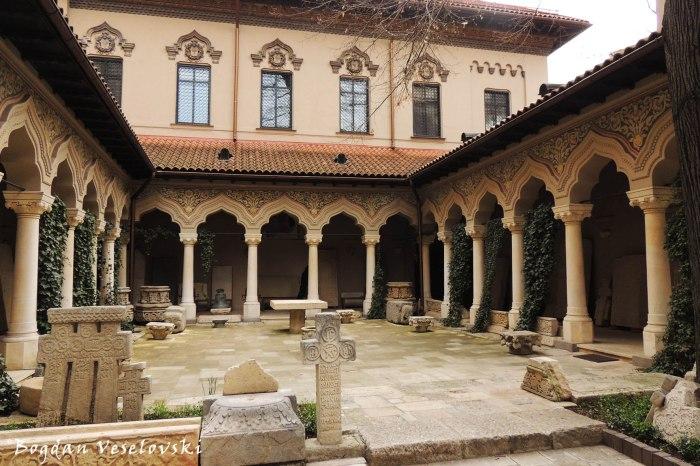 Stravopoleos Monastery - Courtyard & Lapidarium