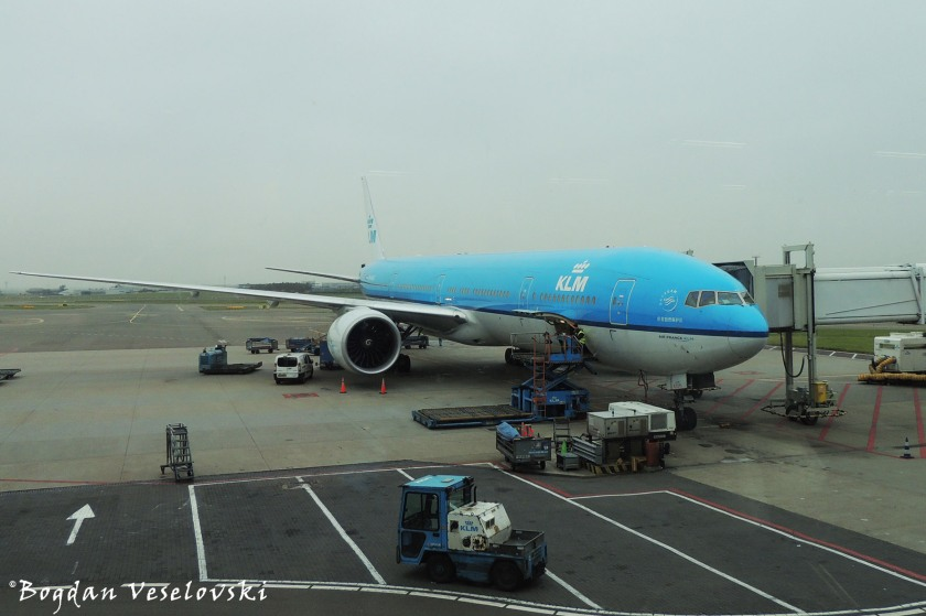 ... with KLM