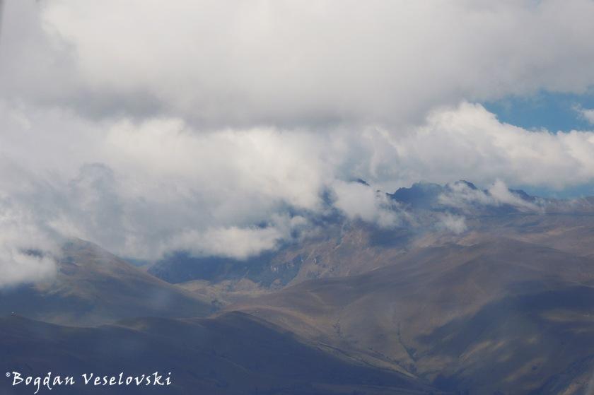 Ecuador seen from above