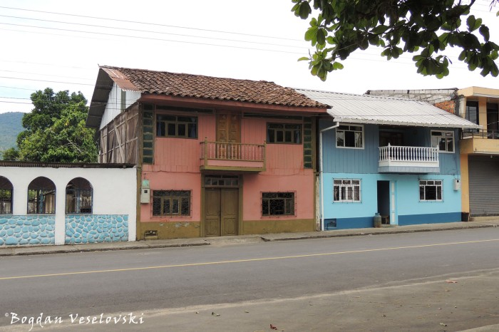 Houses in Huambi