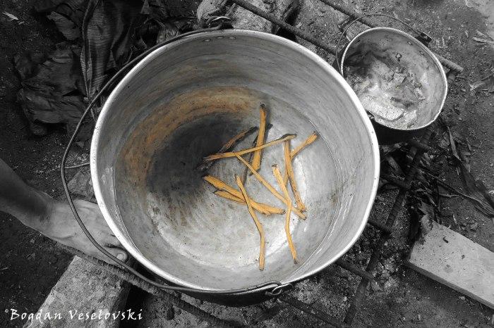 Magic inside the pot