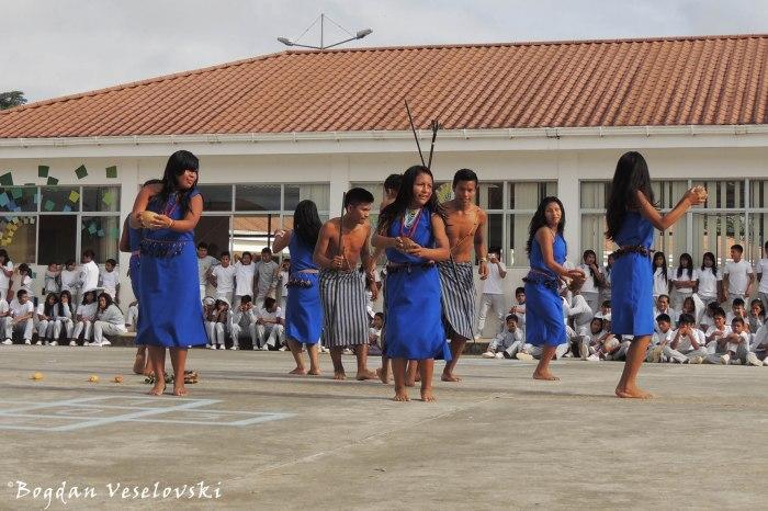 Shuar dance