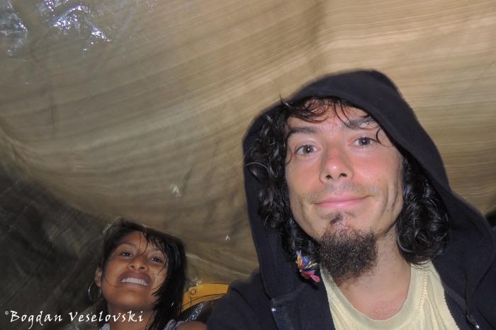 On the way BACK ... still raining