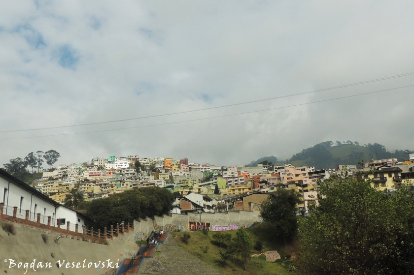 House hill in Quito