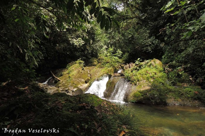 One of the seven waterfalls
