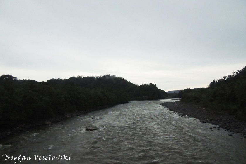 Across the river