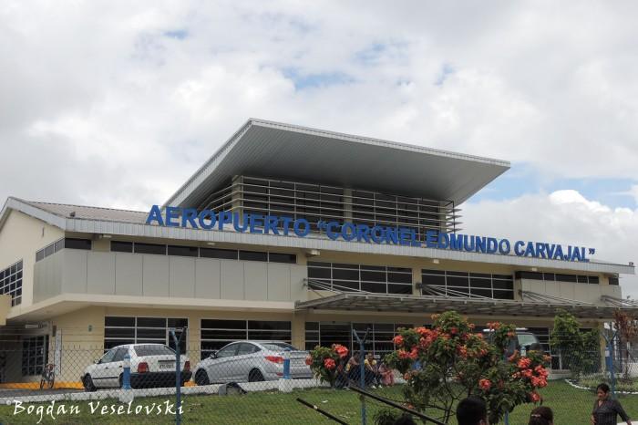 Aeropuerto 'Coronel Edmundo Carvajal' (Macas Airport)