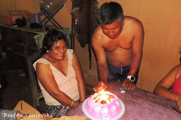 Cecilia's birthday