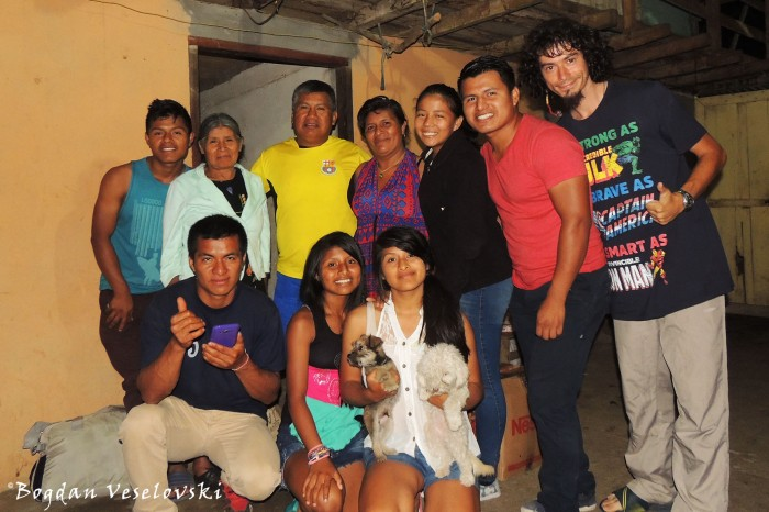 My new Ecuadorian family