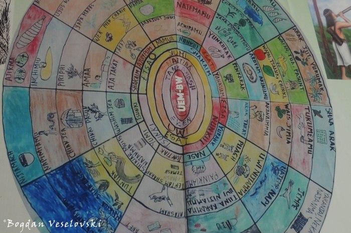 Shuar calendar