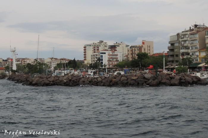 Rock pier