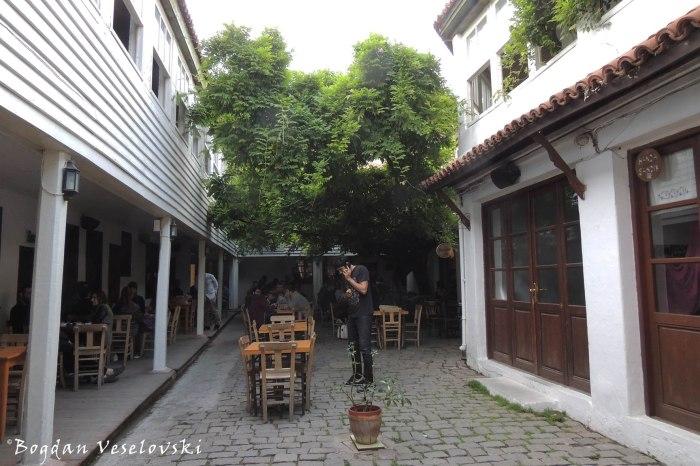 Courtyard pub