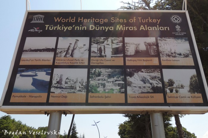 World Heritage Sites of Turkey