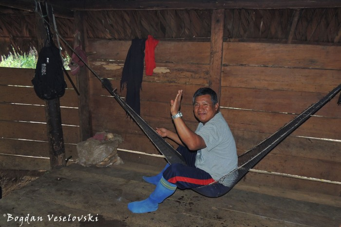 Amaca. Tampu (hammock)