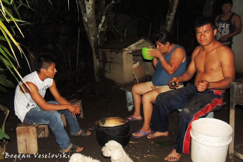 Ayahuasca night
