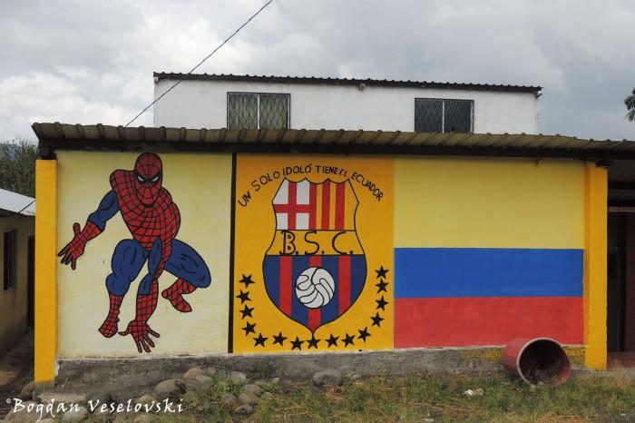 Ecuador, Barcelona & Spider Man
