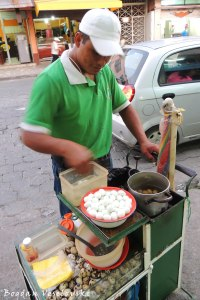 Quail eggs' vendor
