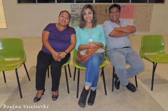 Silvia, Karla & Marcelo
