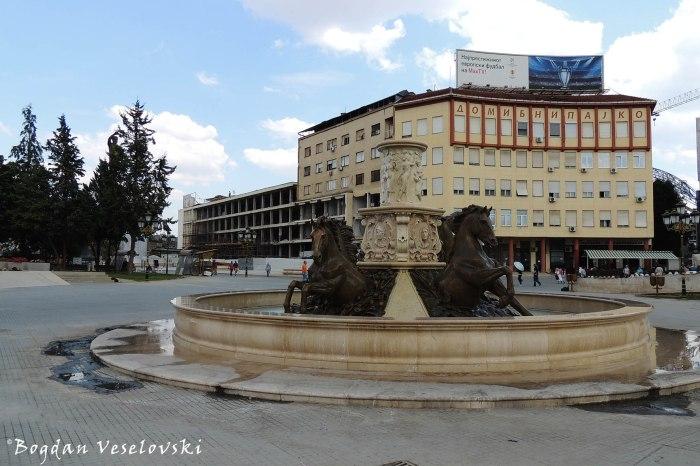 Horses Fountain