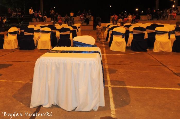 Jury's table