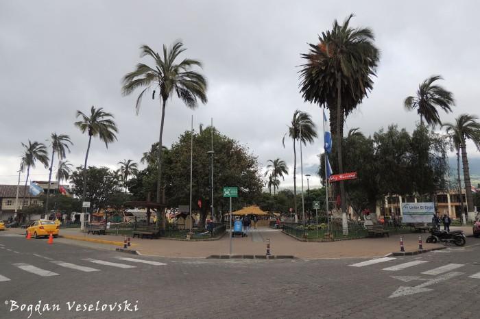 Parque Central (Cotacachi Central Park)