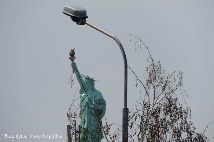 Statue of Liberty, Pristina, Kosovo