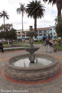 Fountain in Simón Bolivar Park