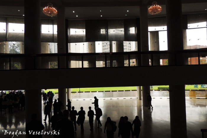 Entrance hall of the House of Culture