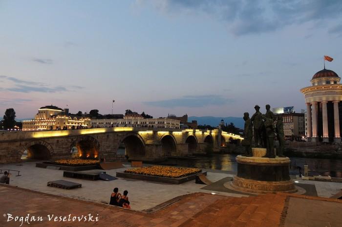 Stone Bridge, Skopje