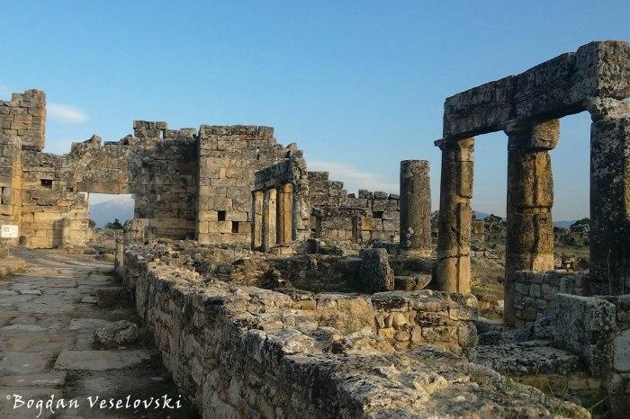 Byzantine southern gate