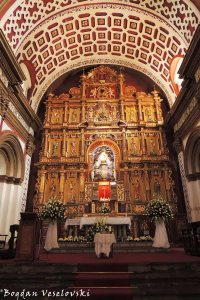 Main altar