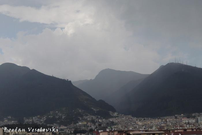 View of Pichincha