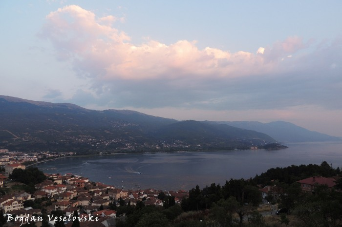Ohrid - town & lake