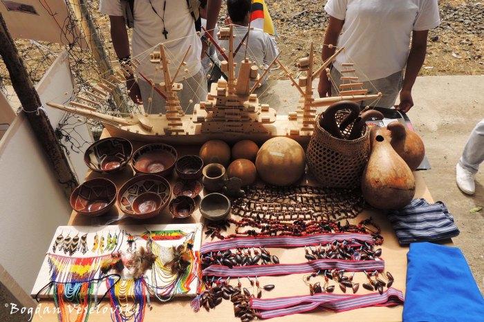 Shuar handicrafts