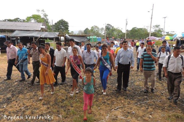 Sagrado Corazon officials