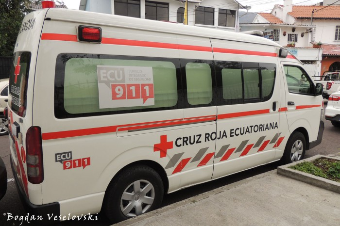 Cruz Roja Ecuatoriana (Ecuadorian Red Cross)