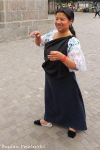 Quechua woman