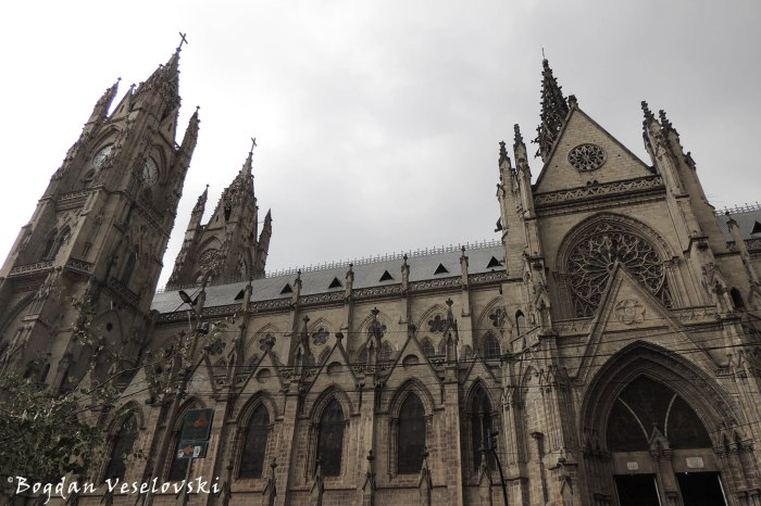 Basílica del Voto Nacional (Basilica of the National Vow - the largest neo-Gothic basilica in the Americas)