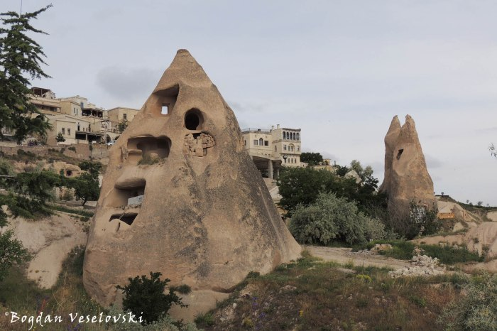 Chimney rock house