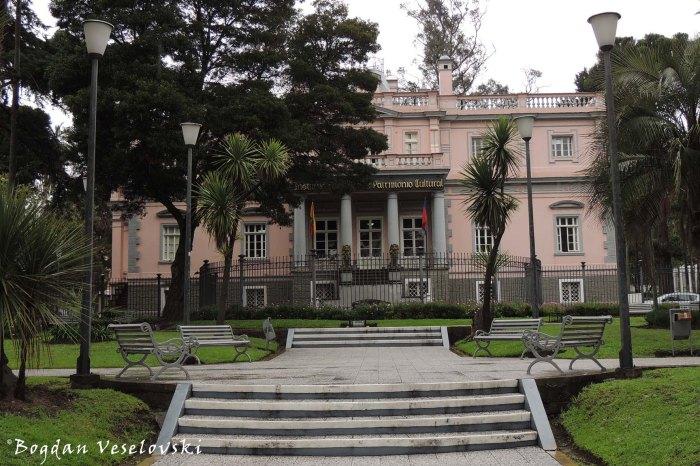 Parque de la Circasiana - Instituto Nacional de Patrimonio Cultural (INPC) -National Institute of Cultural Heritage