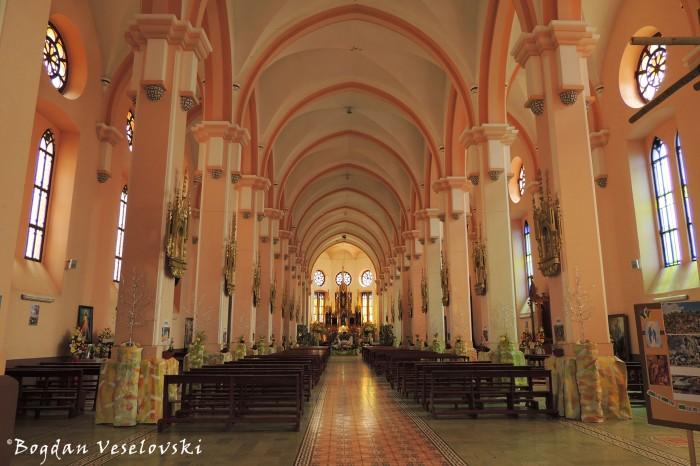 Interior of San Miguel Church