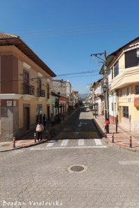 Street in Quiroga